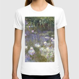 Water Lilies 1922 by Claude Monet T-shirt