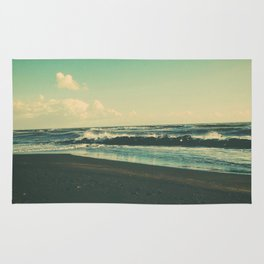 Dark Sand Beach Rug
