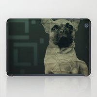 frenchie iPad Cases featuring Frenchie by Mi Nu Ra