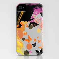 Audrey again iPhone (4, 4s) Slim Case