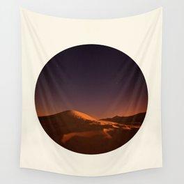 Desert Sunset & Stars In The Sky Wall Tapestry