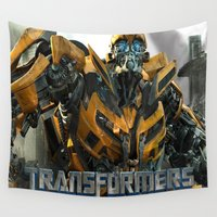 transformers Wall Tapestries featuring transformers by store2u
