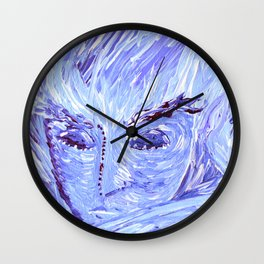 Frozen Man Wall Clock