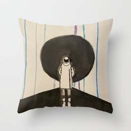 Woke Up in Tokyo Throw Pillow