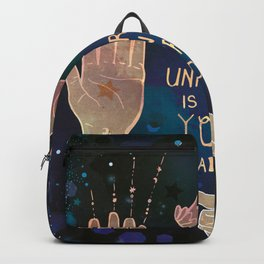 The Universe is in Your Hands Backpack
