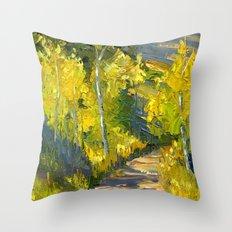 Golden Gates Throw Pillow