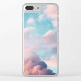 Clouds Paradise Clear iPhone Case