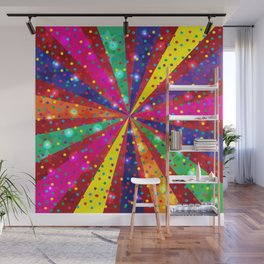 Colorful light Wall Mural