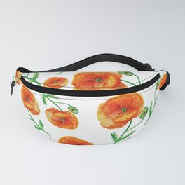 Poppies Magic Fanny Pack