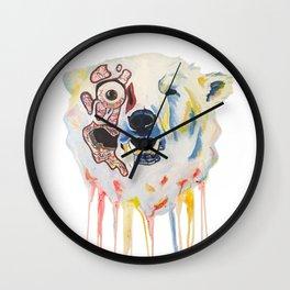 Melting Polar Bear Wall Clock