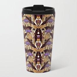 Art Nouveau Bats  Large Pattern Travel Mug