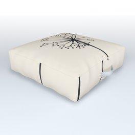 Dandelions Outdoor Floor Cushion