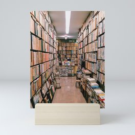 Sapporo, Japan Bookstore Mini Art Print