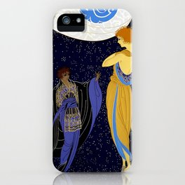 "Art Deco Design ""Night Dream"" iPhone Case"
