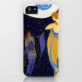 """Art Deco Design """"Night Dream"""" iPhone Case"""