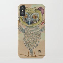 GINGERBREAD BIRD iPhone Case