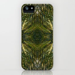 Coconut Leaf Collage 3 iPhone Case
