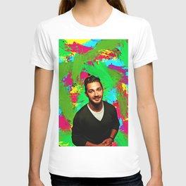 Shia LaBeouf - Celebrity Art T-shirt