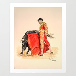 Enrique Ponce Art Print