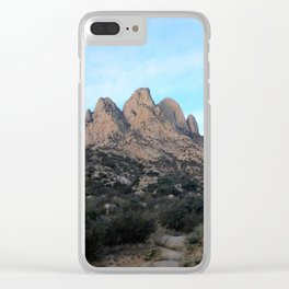 Las Cruces Clear iPhone Case