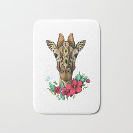 Mystic Giraffe Bath Mat