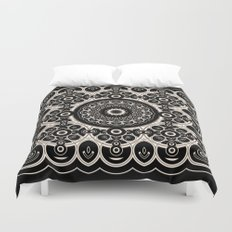 Lace Mandala Duvet Cover