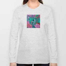 Love My Flamingos Long Sleeve T-shirt