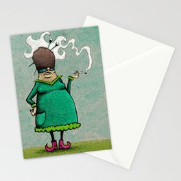 Madame Adipeux Stationery Cards