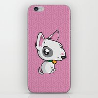puppy iPhone & iPod Skins featuring Puppy by Eye Opening Design