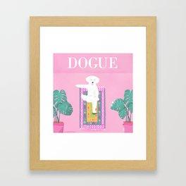 Dogue - Yoga Framed Art Print
