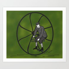 Bicycle 2 Art Print