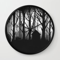 Wild Woods Wall Clock