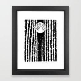 MoonLight Dream Framed Art Print