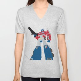 Transformers G1 - Optimus Prime Unisex V-Neck