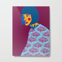Aquaria  Metal Print