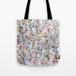 Overlapping Conversations Tote Bag