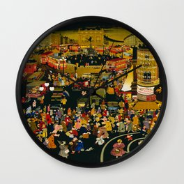 Vintage poster - London Wall Clock