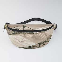 Old Airplane Fanny Pack
