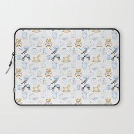 Baby Boy Fashion Pattern Laptop Sleeve