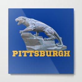 Pittsburgh Panther Print Metal Print