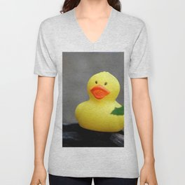 Rubber Duckie Unisex V-Neck
