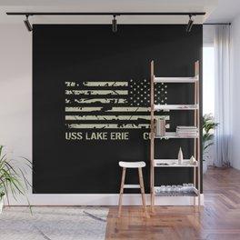 USS Lake Erie Wall Mural
