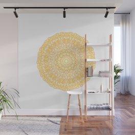 Mandala 13 / 1 yellow Citrine Wall Mural