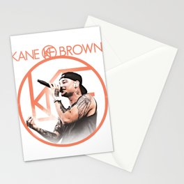 kane brown tour world 2018 Stationery Cards