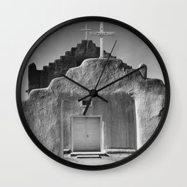 Ansel Adams - Taos Pueblo Church Wall Clock