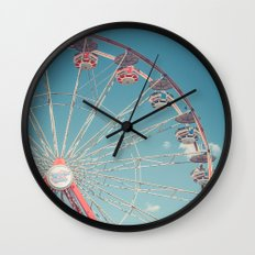 The Ferris Wheel 3 Wall Clock