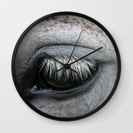 Horse Lash Wall Clock