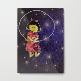 space skipping Metal Print