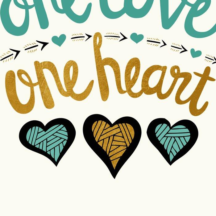 One Love One Heart Leggings