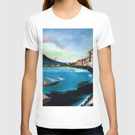Castellamare di Stabia, Bay of Naples, Italy Waterfront by Tivadar Csontváry Kosztka T-shirt